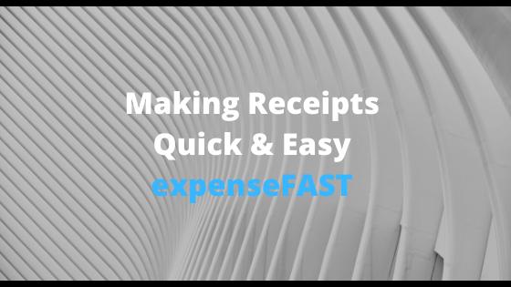 make receipts template designer