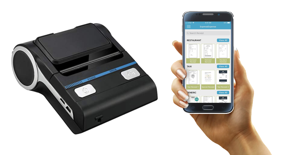 Printing receipts with Express Thermal Print